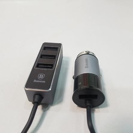 Tẩu Sạc Nhanh Baseus 4 USB - Hàng Chính Hãng