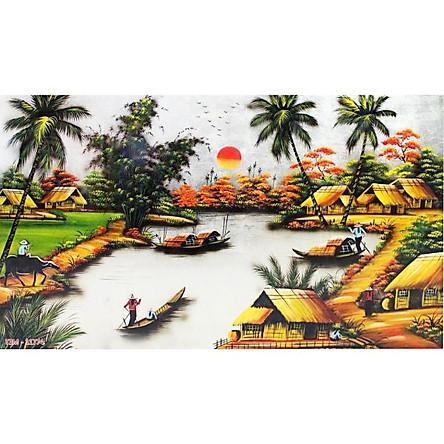 Tranh Treo Đồng Quê - DQ057