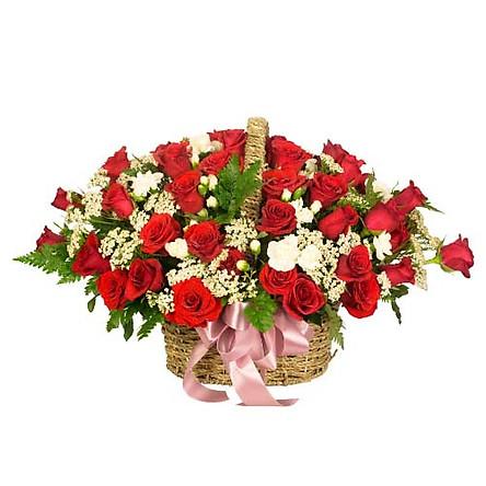 Giỏ hoa tươi - Thay Lời Muốn Nói 3980
