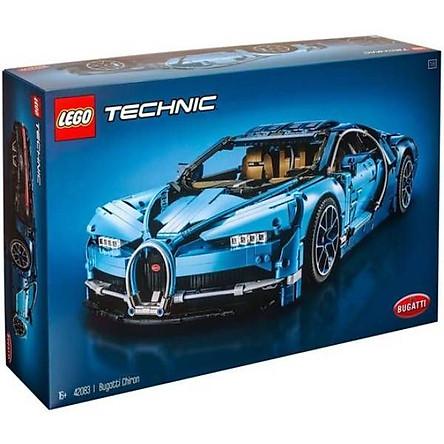 Siêu Xe Bugatti Chiron LEGO TECHNIC 42083