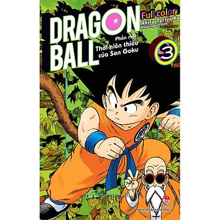 Dragon Ball Full Color - Phần Một: Thời Niên Thiếu Của Son Goku - Tập 3