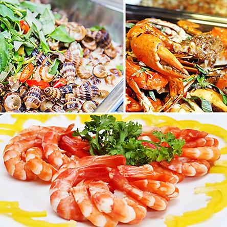 Buffet Trưa Với 70 Món Á, Âu, Việt Và Hải Sản Nướng - Nhà hàng - Liberty Hotel Saigon Parkview