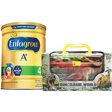 Sữa Bột Enfagrow A+ 4 1.7kg - Tặng Bộ Đồ Chơi Thế Giới Động Vật