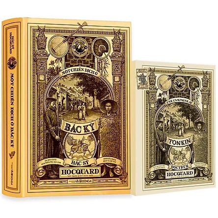 Một Chiến Dịch Ở Bắc Kỳ - Bản Phổ Thông (232 Hình Khắc Kèm Theo Phụ Bản Ảnh)(Tặng Kèm: Hộp Postcard Cao Cấp Gồm 12 Tấm)