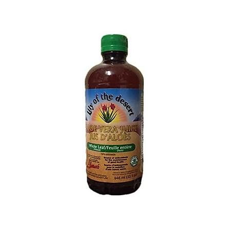 Lily of the Desert Aloe Vera Juice, Whole Leaf, 128 Fluid Ounce
