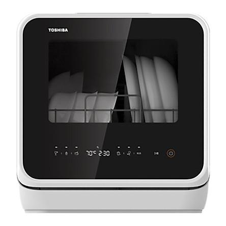 Máy Rửa Chén Toshiba DWS-22AVN(K) - Hàng Chính Hãng
