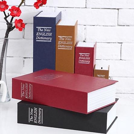 Két Sắt Hình Quyển Sách- Giao Màu NGẫu NHiên