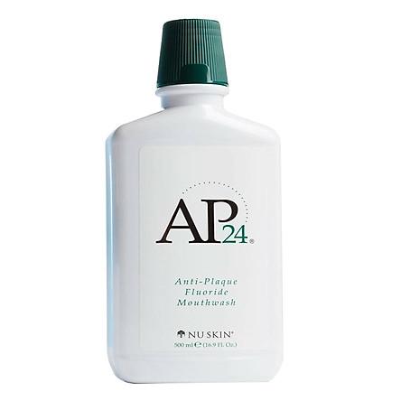 Nước súc miệng sạch vi khuẩn mảng bám Nuskin AP24 - Anti Plaque Fluoride Mouthwash 500ml