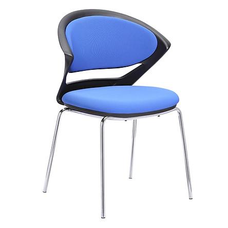 Combo 4 Ghế đa năng cao cấp khung kim loại dùng trong phòng họp, ngoài trời, pantry, nhà hàng, quán cafe, bàn trang điểm... mã sản phẩm K000-018, K000-019