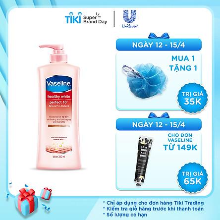 Sữa Dưỡng Thể Vaseline Perfect 10 Trong 1 32015363 (350ml)