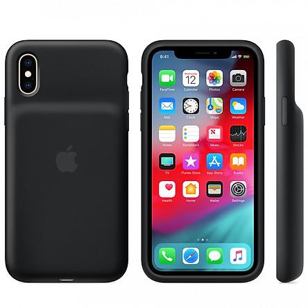 Ốp Lưng Tích Hợp Pin Sạc Dự Phòng Apple Smart Battery Case Cho iPhone XS / XS Max / XR - Nhập Khẩu Chính Hãng