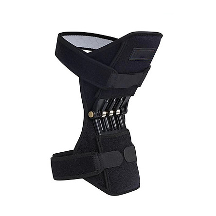 1PCS Knee Booster Joint Support Knee Pads Patella Knee Strap Tibial Booster Powerful Rebound Spring Force for Gym