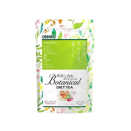 Trà Giảm Cân Orihiro Botanical Diet Tea (20 gói) Nội Địa Nhật Bản