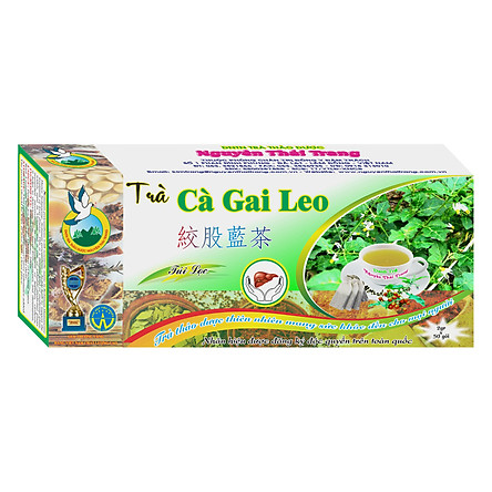 Trà Cà Gai Leo Giải Độc Gan Nguyên Thái Trang (2g x 50 Gói)