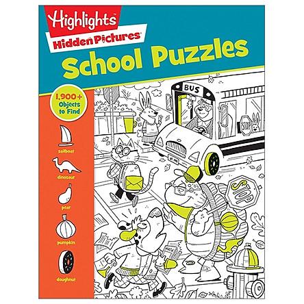 School Puzzles (Hidden Pictures)