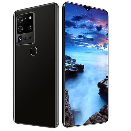 Real 4G Smart phone S30U Plus Mobile Phone 6.8 inch Full Display Screen Mobile Phone 12GB 512GB flash memory 18.0 million Front Camera