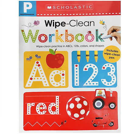 Wipe Clean Work Books - Pre K