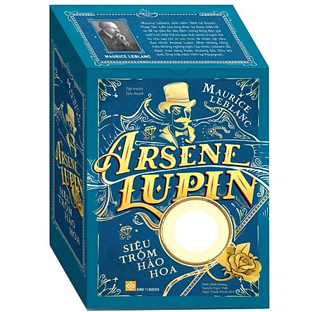 Bộ Hộp Sách Arsène Lupin - Siêu Trộm Hào Hoa (Trọn Bộ 5 Cuốn)