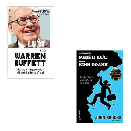 Bộ 2 cuốn về Warren Buffet và cuốn sách yêu thích của ông: Luật Của Warren Buffet - Những Cuộc Phiêu Lưu Trong Kinh Doanh