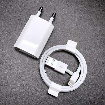 Bộ sạc 1A củ dẹt cho các dòng iPhone 6s/7/8/X/Xs/Xr