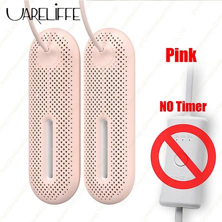 Máy sấy giày Uareliffe tiệt trùng hút ẩm, Máy sấy khử mùi, Công cụ sấy làm nóng nhiệt độ với đèn chiếu sáng tiện lợi di du lịch