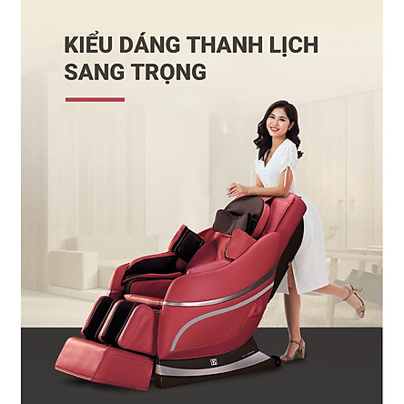 Ghế massage toàn thân cao cấp Boss Nhật Bản DMJ- 189 (Hàng chính hãng)