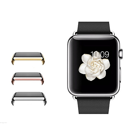 Ultra-Slim Electroplate Metal Hard Case Cover For Apple Watch iWatch 38 & 42mm