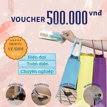 [E-Voucher] Phiếu quà tặng Voucher Dịch vụ Vệ sinh 500.000 VNĐ áp dụng Toàn bộ Dịch vụ Vệ Sinh Không Gian Sạch - Tổng đài  miễn phí 18006248 để đặt hẹn