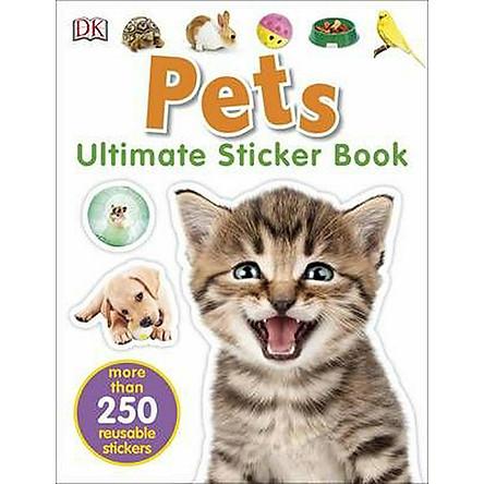 Ultimate Sticker Book Pets