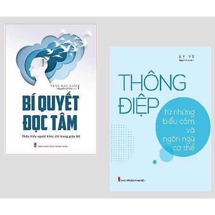 Combo 2 cuốn: Bí Quyết Đọc Tâm - Thấu Hiểu Người Khác Chỉ Trong Giây Lát + Thông Điệp Từ Những Biểu Cảm Và Ngôn Ngữ Cơ Thể + Sức Mạnh Của Những Thay Đổi Tâm Lý Tinh Tế (có bookmark)
