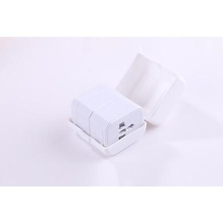 Ổ cắm nối đa năng D993 thích hợp với nhiều quốc gia - Tặng kèm quạt mini cắm cổng USB (vỏ nhựa, màu ngẫu nhiên)