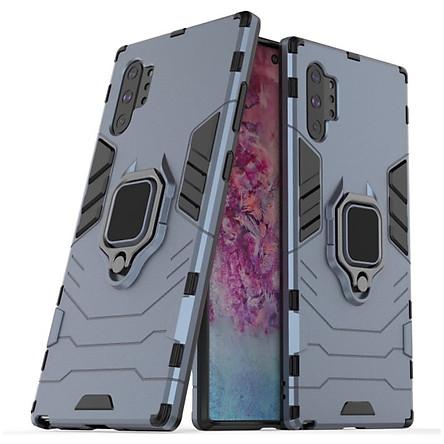 Ốp lưng dành cho SamSung Galaxy Note 10 Plus iron man chống sốc kèm iring