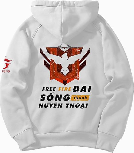 Áo khoác hoodie nam nữ 4YOUNG Free Fire Sống Dai Thành Huyền Thoại tay dài, có mũ thời chất nỉ cotton