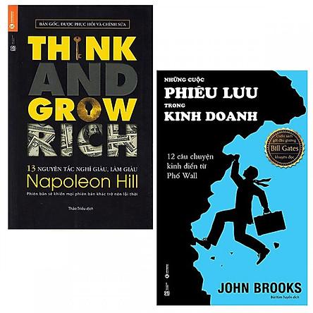 Combo 13 Nguyên Tắc Nghĩ Giàu Làm Giàu - Think And Grow Rich và Những Cuộc Phiêu Lưu Trong Kinh Doanh