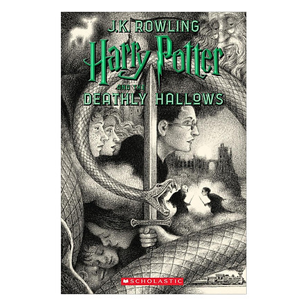 Harry Potter Part 7: Harry Potter And The Deathly Hallows (Paperback) (Harry Potter và Bảo bối tử thần) (English Book)
