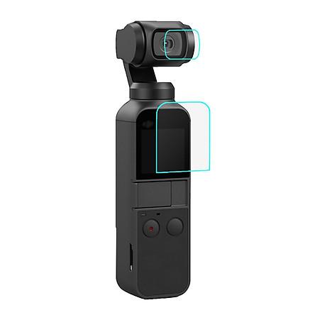Kính Cường Lực Cho Máy Quay Cầm Tay DJi OSMO Pocket Puluz