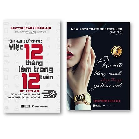 Bộ Sách Kỹ Năng Làm Việc kt ; Mỗi Người Phụ Nữ Đều Có Thể Trở Nên Giàu Có – Hành Trình Thay Đổi Cuộc Đời Bạn và Tối đa hóa hiệu suất công việc – Việc 12 tháng làm trong 12 tuần