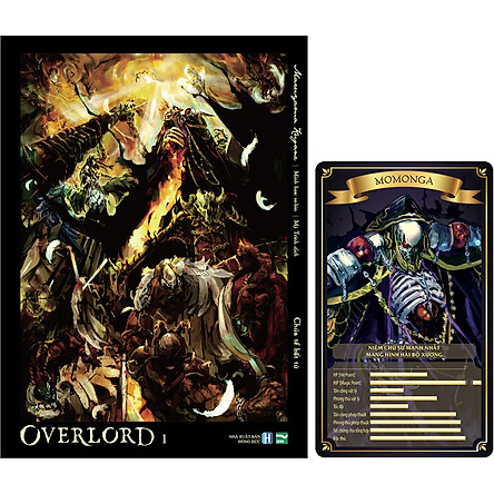 Overlord 1 - Tặng Kèm Thẻ Bài Nhân Vật (Số Lượng Có Hạn)