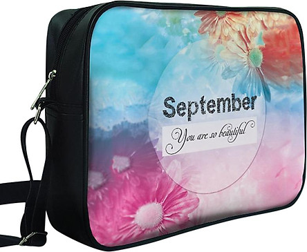 Túi Đeo Chéo Hộp Unisex In Hình September You Are So Beautiful - TCTE042