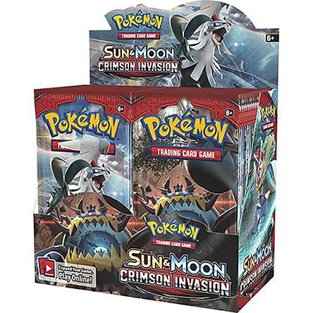 Bộ Thẻ Bài Pokemon 324 Thẻ Trading Card Game Pokémon Sun&Moon Crimson Invasion TCG Sưu Tập Cao Cấp