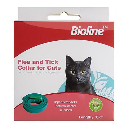 Vòng đeo chống ve ghẻ cho mèo 1 cái (màu ngẫu nhiên)