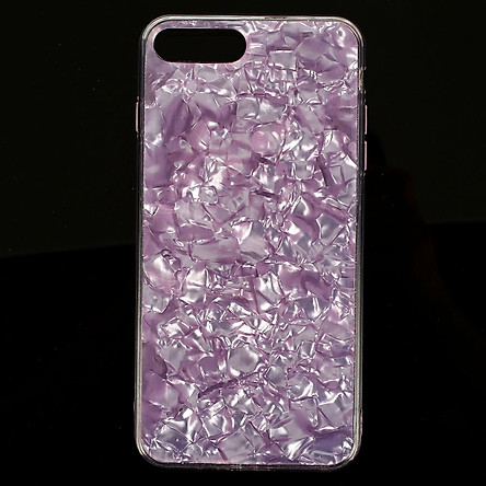 Protector Cover Mobile Phone Case Lovely Conch Shell TPU Dust-Proof Anti-Fingerprint For iPhone7 Plus/8 Plus - Pink