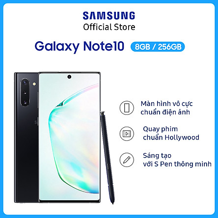 Điện Thoại Samsung Galaxy Note 10 (8GB/256GB) - Hàng Chính Hãng
