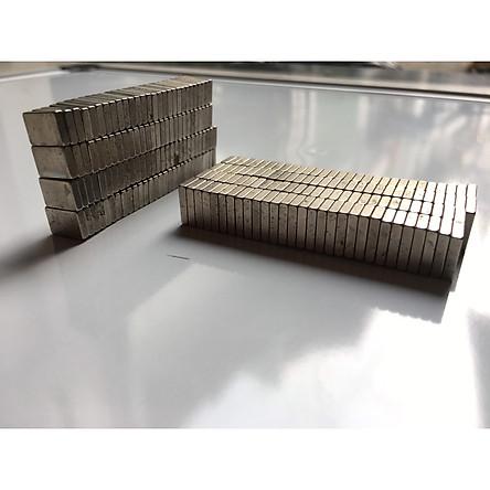 Bộ 50 Viên Nam Châm Đất Hiếm Hình Chữ Nhật 10.5x7x2mm ( Từ Tính Hút Cực Mạnh )