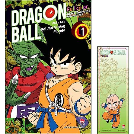 Dragon Ball Full Color - Phần Hai: Đại Ma Vương Piccolo - Tập 1 [Tặng Bookmark]