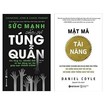 Combo Sách Làm Kinh Tế Đang Được Ưu Chuộng Nhất: Mật Mã Tài Năng  + Sức Mạnh Của Sự Túng Quẫn ( Tặng Kèm Bookmark Happy Life)