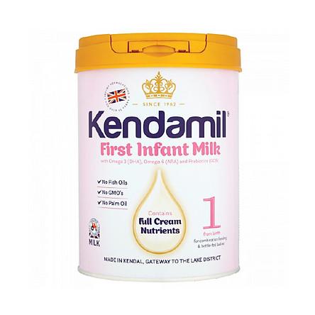 Sữa bột nguyên kem Kendamil 1-400g