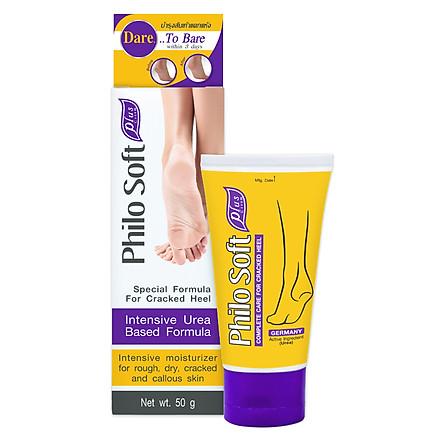 Kem dưỡng ẩm giúp da chân mềm mại, giảm khô nứt PHILO SOFT PLUS CREAM 50g