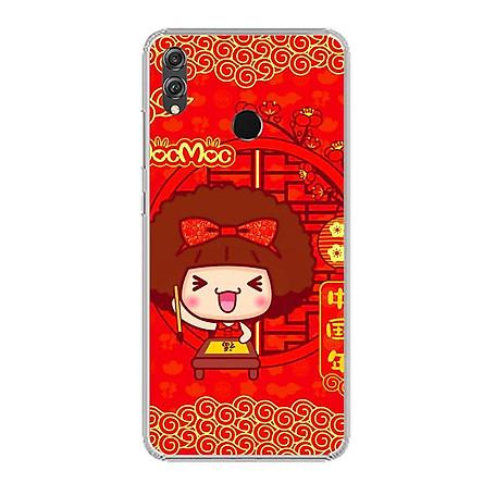 Ốp lưng dẻo cho điện thoại Huawei Honor 8X - 0443 MOCMOC01 - Hàng Chính Hãng