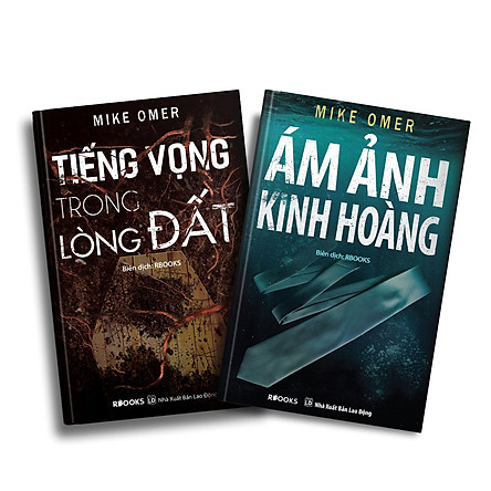 Bộ 2 Cuốn Sách:Tiếng Vọng Trong Lòng Đất + Ám Ảnh Kinh Hoàng